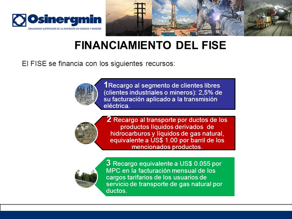 FINANCIAMIENTO DEL FISE