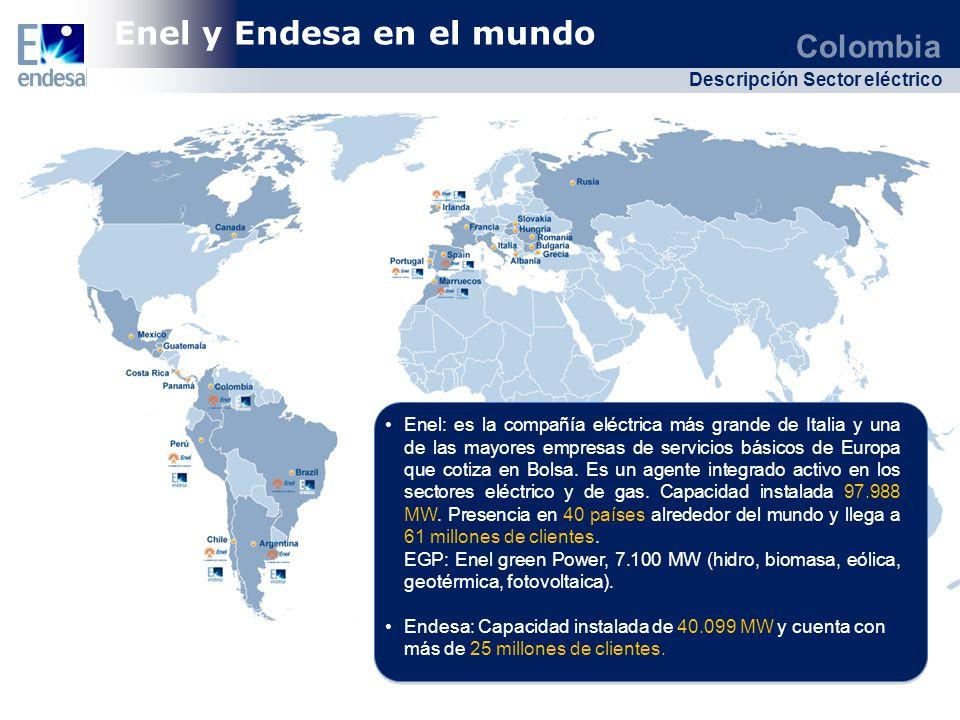 Enel y Endesa en el mundo
