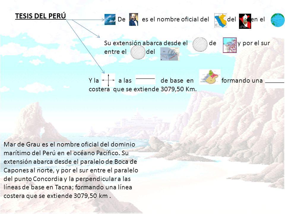 TESIS DEL PERÚ De es el nombre oficial del del en el