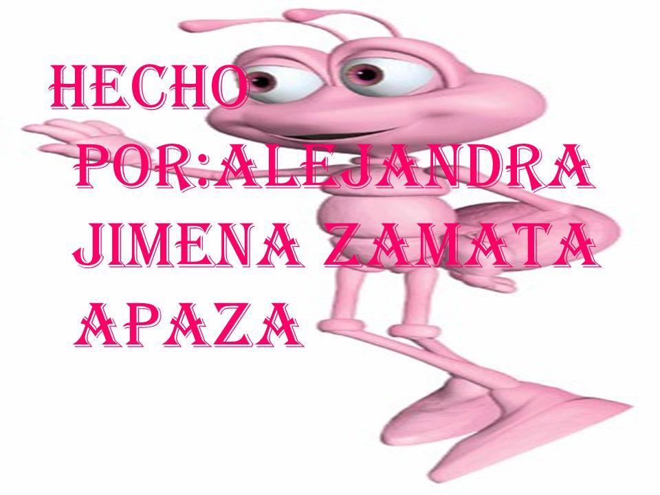 HECHO POR:ALEJANDRA JIMENA ZAMATA APAZA