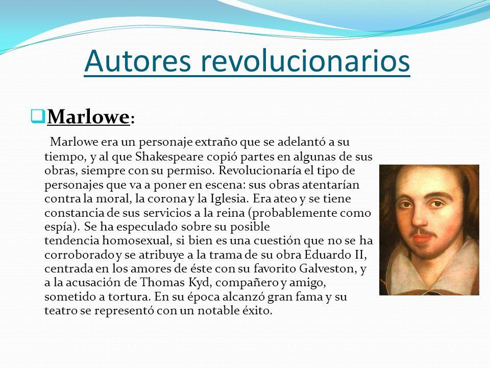 Autores revolucionarios