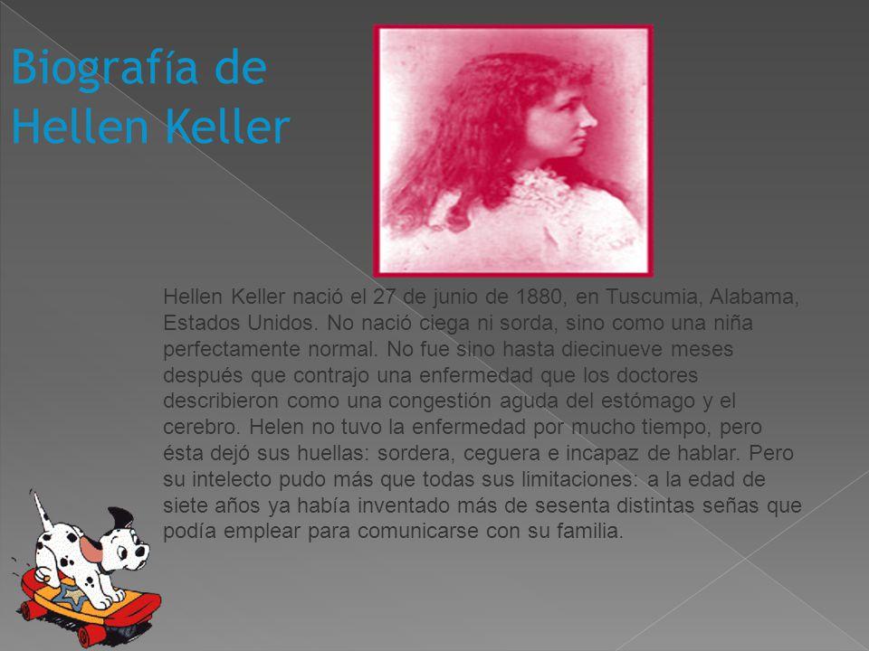 Biografía de Hellen Keller