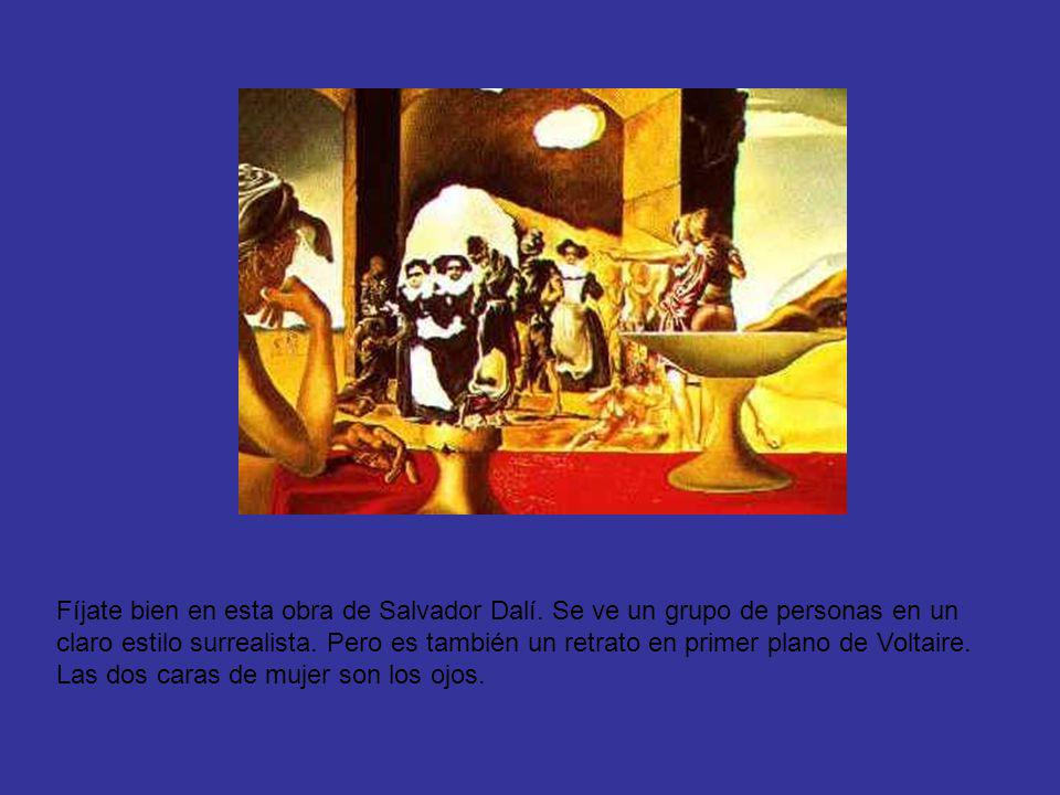 Fíjate bien en esta obra de Salvador Dalí