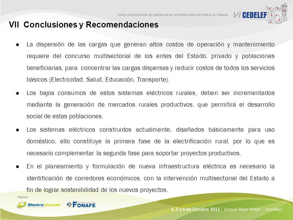 VII Conclusiones y Recomendaciones