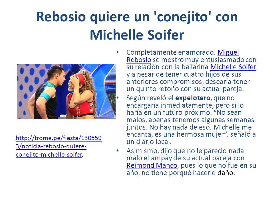 Rebosio quiere un conejito con Michelle Soifer