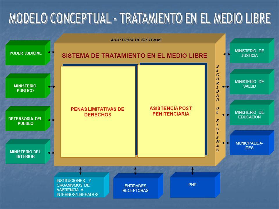 MODELO CONCEPTUAL - TRATAMIENTO EN EL MEDIO LIBRE