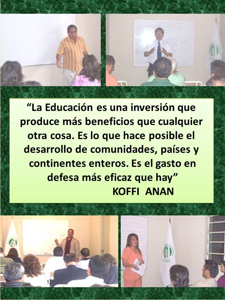 La Educación es una inversión que