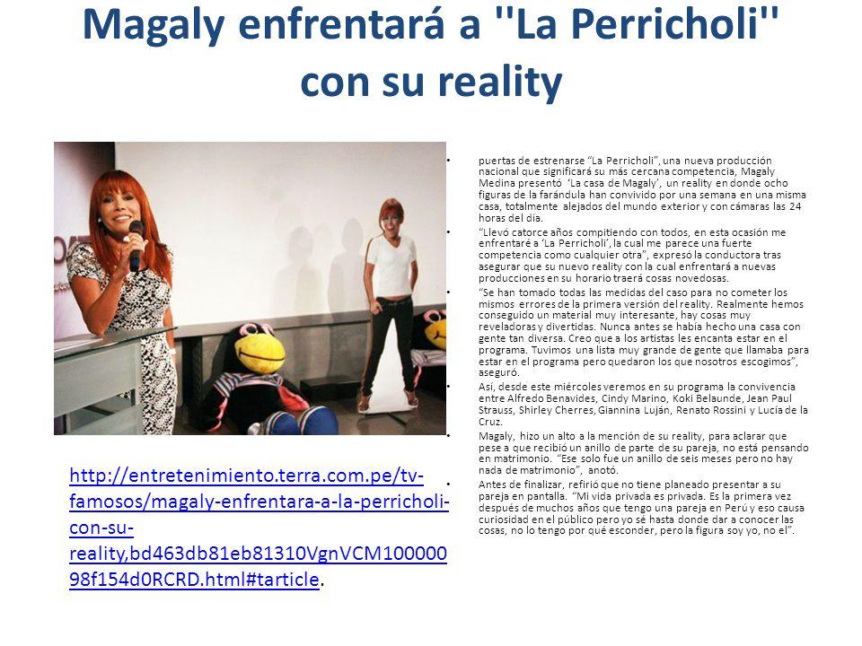 Magaly enfrentará a La Perricholi con su reality