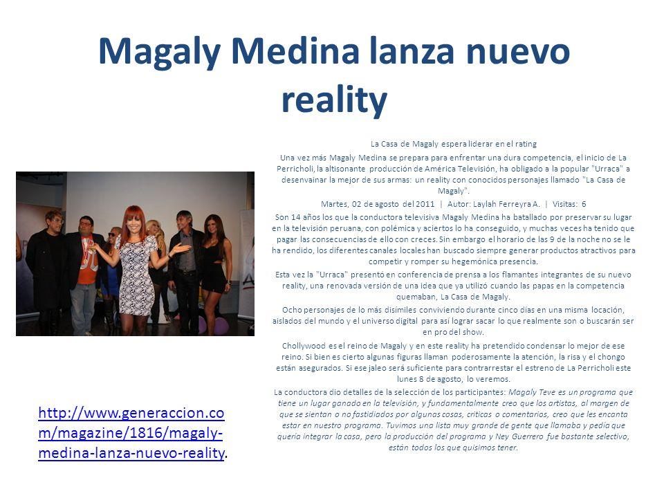 Magaly Medina lanza nuevo reality