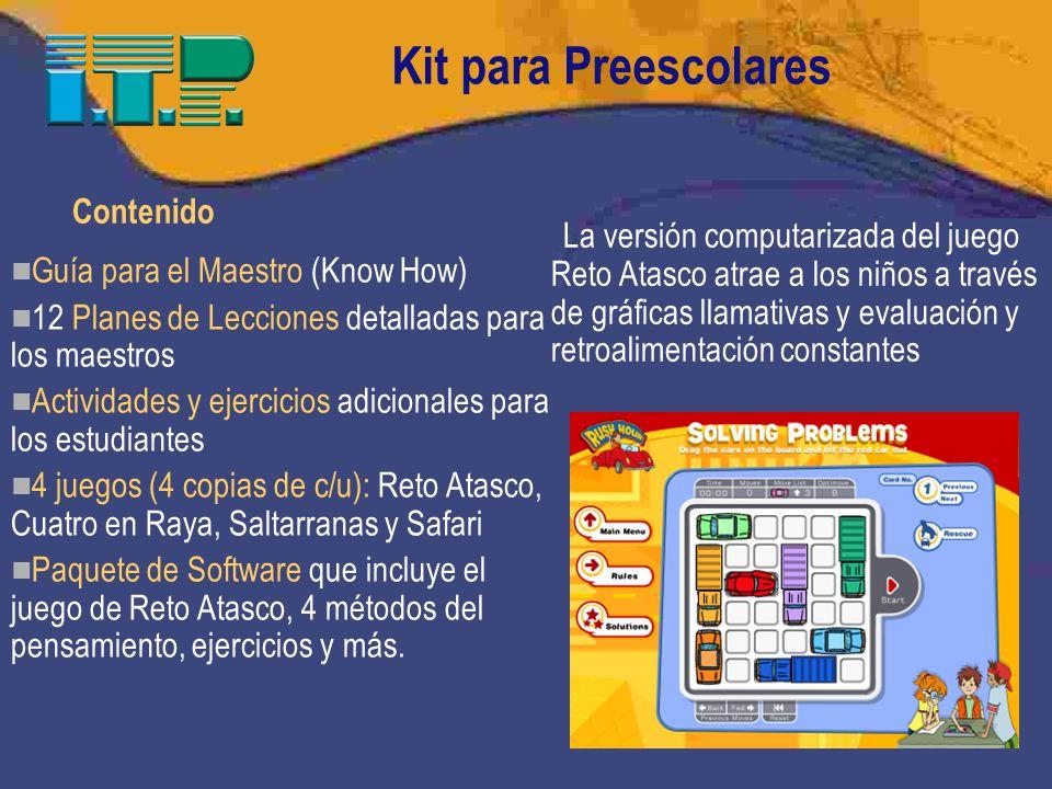 Kit para Preescolares Contenido
