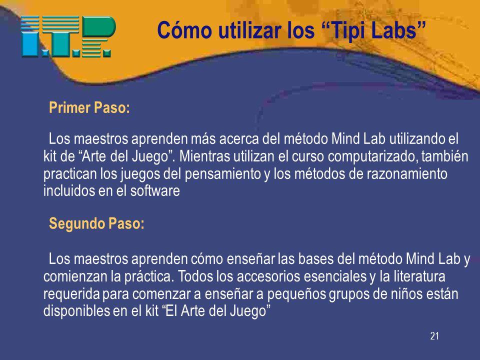 Cómo utilizar los Tipi Labs
