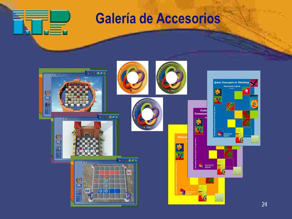 Galería de Accesorios