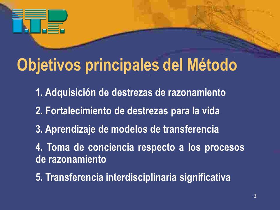 Objetivos principales del Método