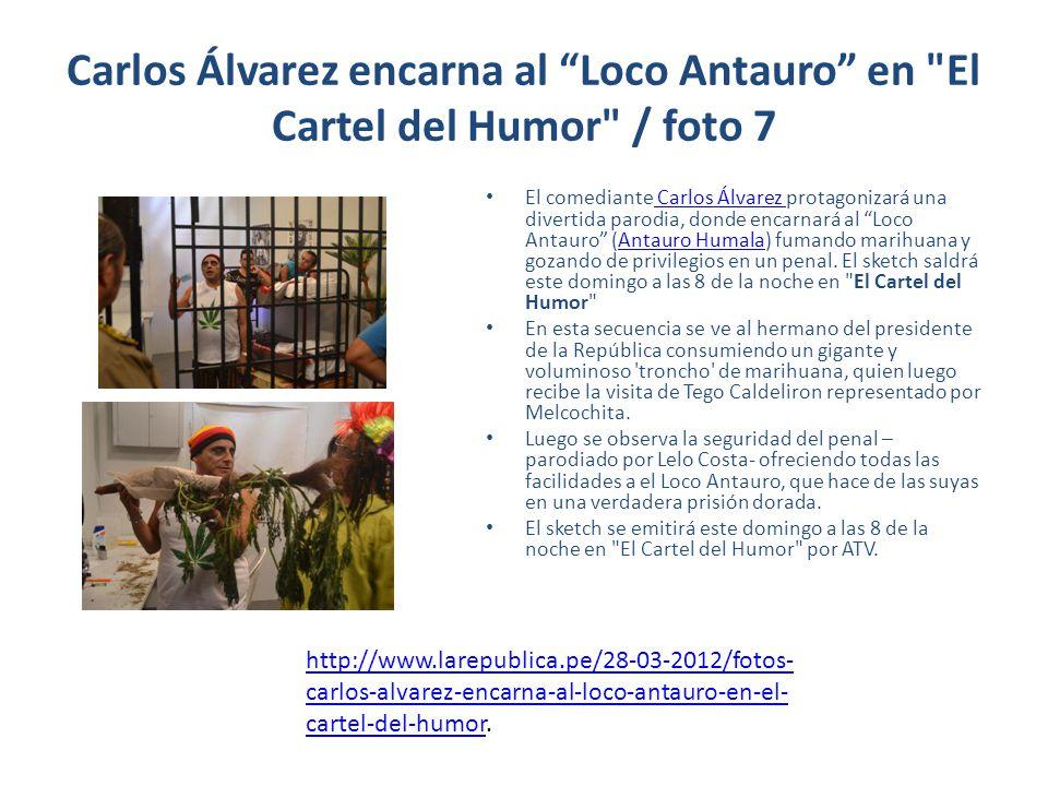 Carlos Álvarez encarna al Loco Antauro en El Cartel del Humor / foto 7