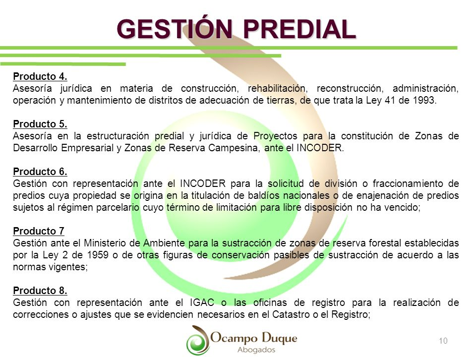GESTIÓN PREDIAL Producto 4.
