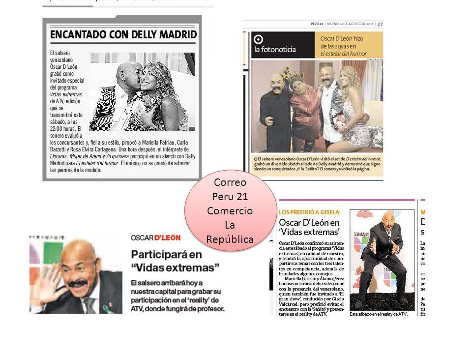 Correo Peru 21 Comercio La República
