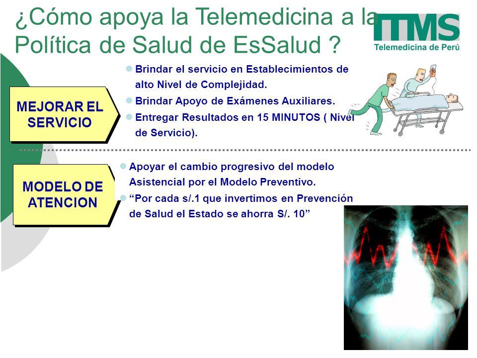 ¿Cómo apoya la Telemedicina a la Política de Salud de EsSalud