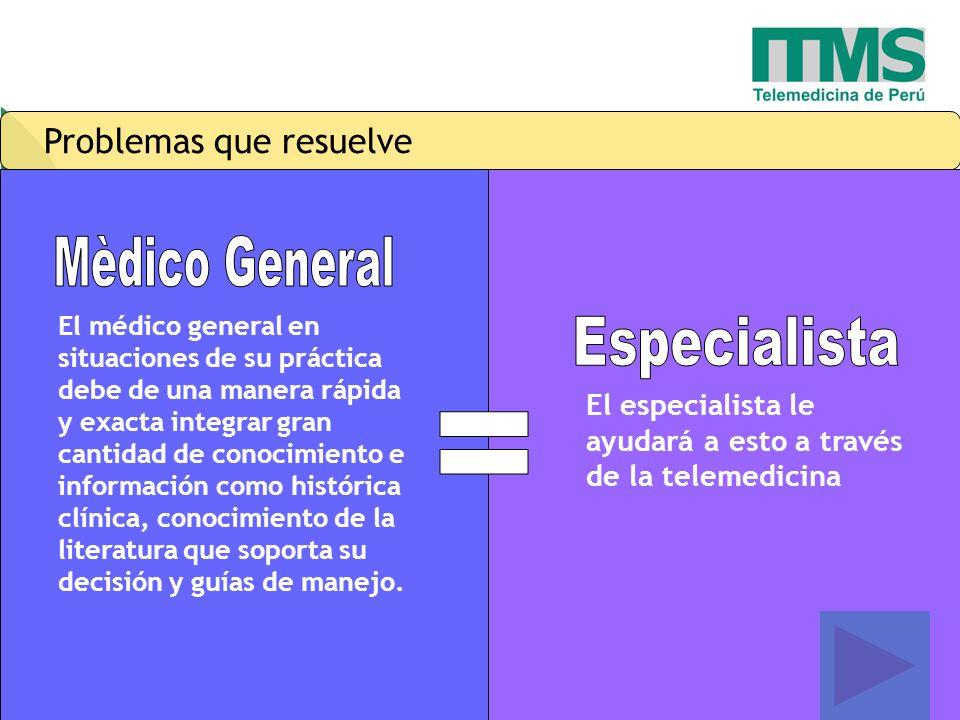 = Mèdico General Especialista