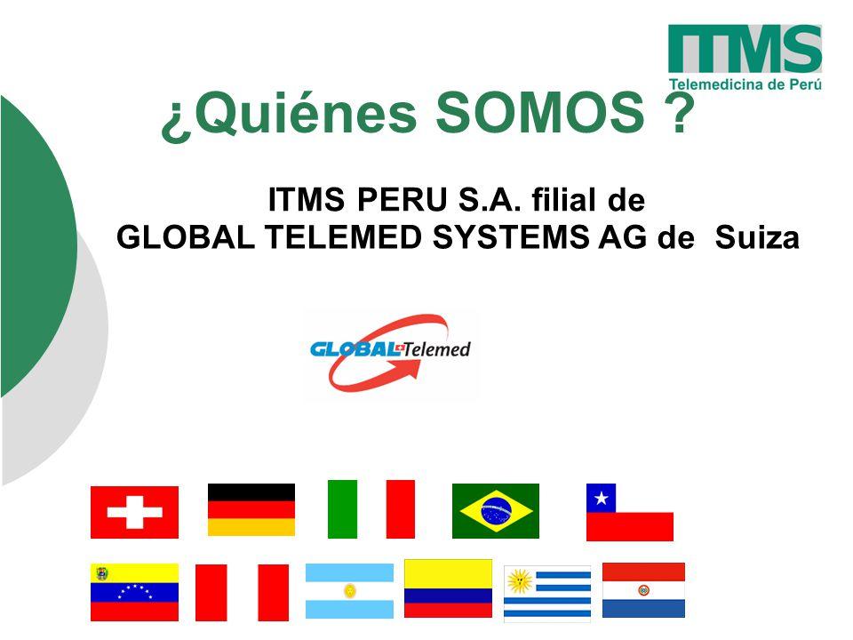 ¿Quiénes SOMOS ITMS PERU S.A. filial de