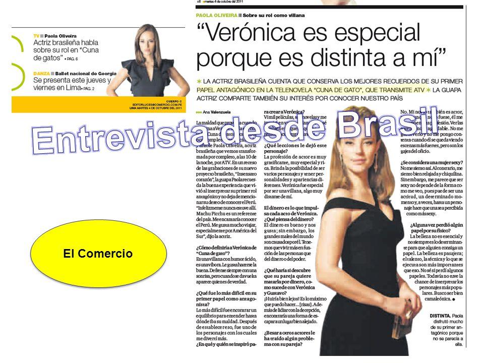 Entrevista desde Brasil