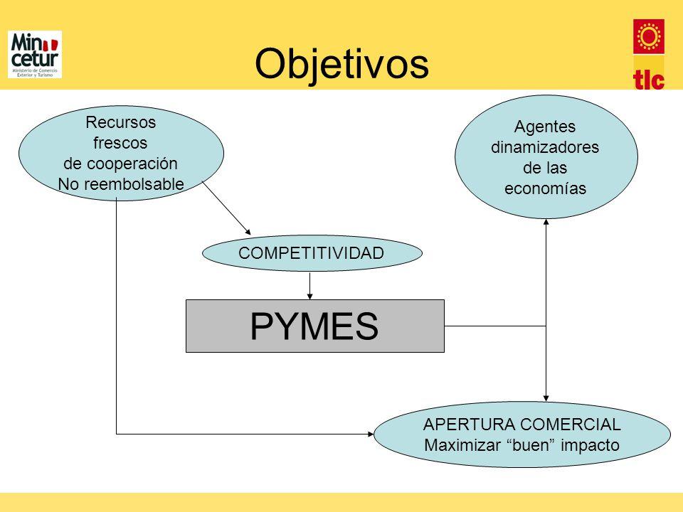 Objetivos PYMES Agentes dinamizadores de las economías