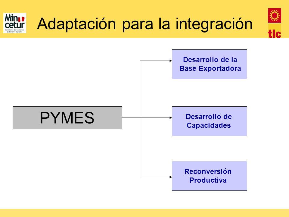 Adaptación para la integración