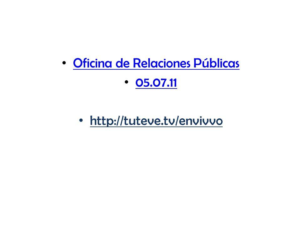 Oficina de Relaciones Públicas