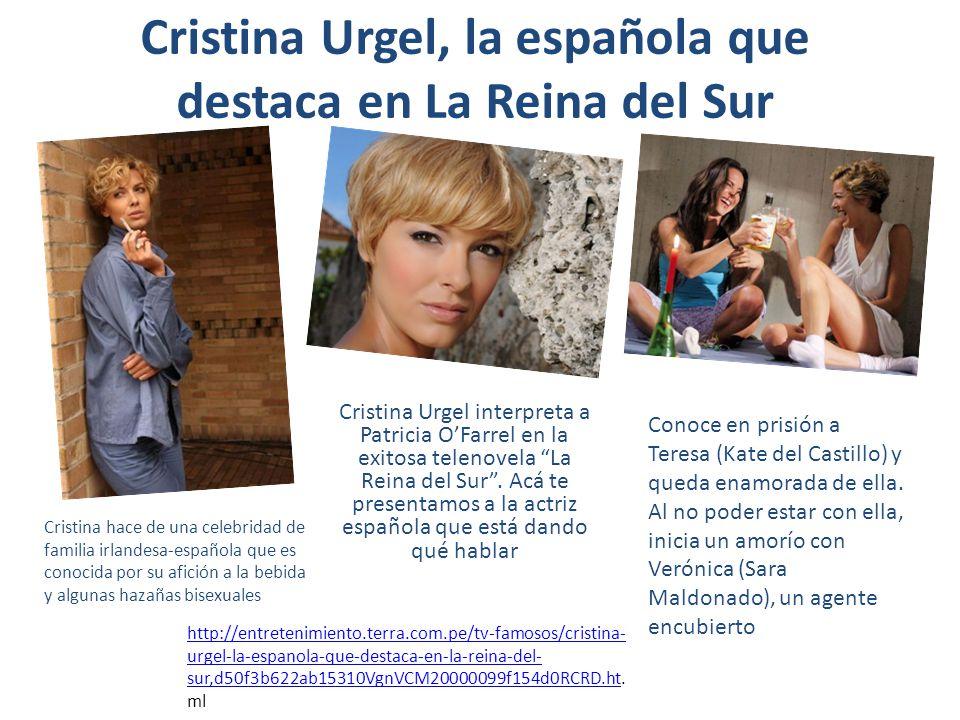 Cristina Urgel, la española que destaca en La Reina del Sur