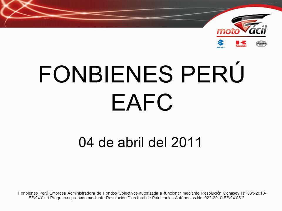 FONBIENES PERÚ EAFC 04 de abril del 2011