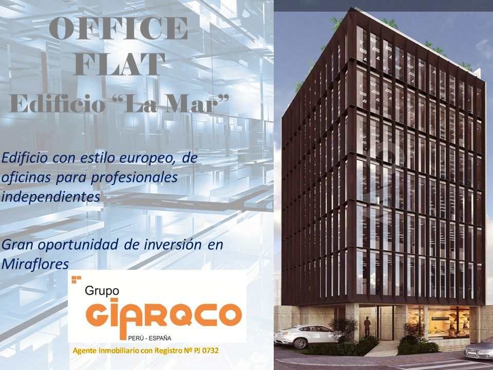 OFFICE FLAT Edificio La Mar