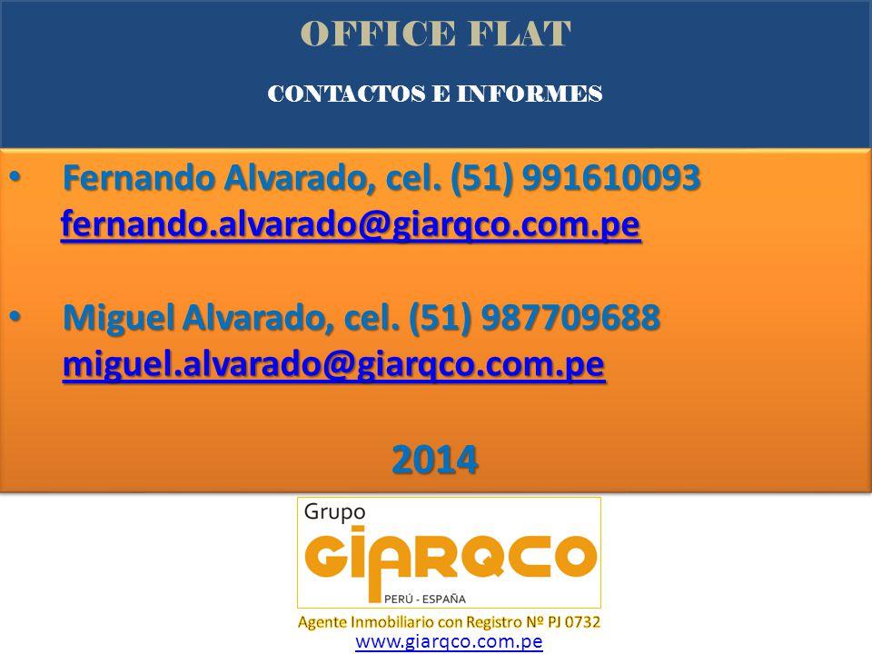 2014 Fernando Alvarado, cel. (51) 991610093