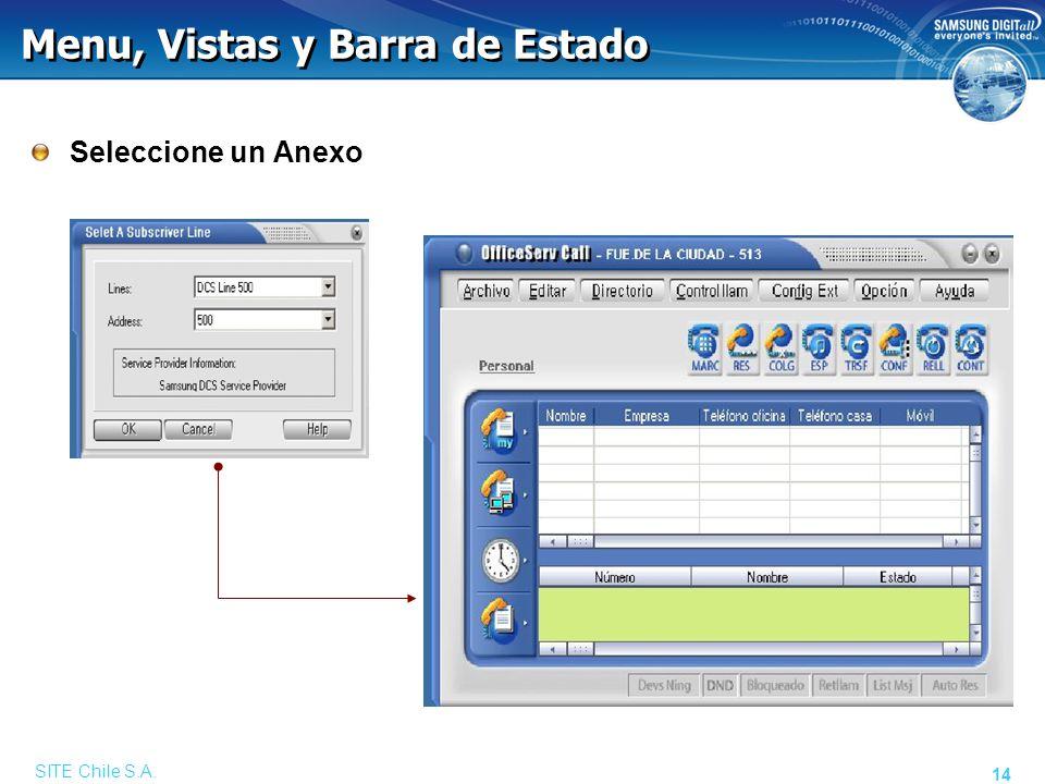 Programación del Anexo
