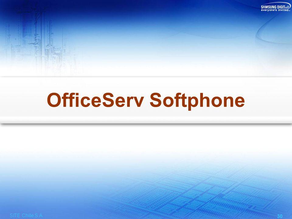 OfficeServ Softphone Emula un Teléfono IP Samsung
