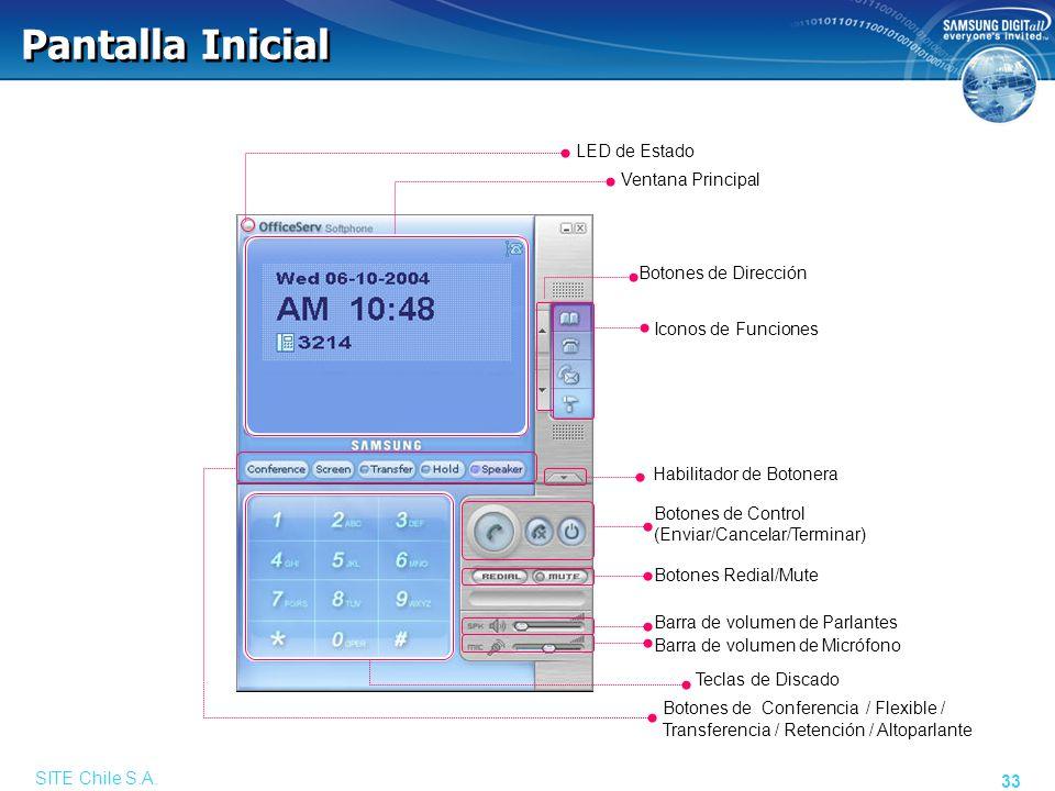 Acceso Configuración Dirección del Servidor.