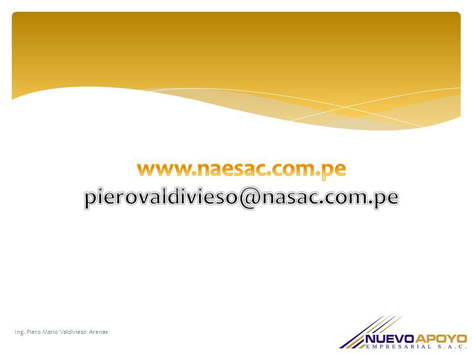 www.naesac.com.pe pierovaldivieso@nasac.com.pe 1