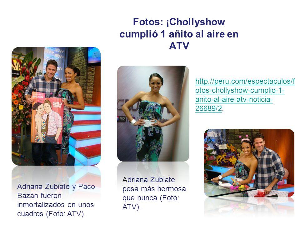 Fotos: ¡Chollyshow cumplió 1 añito al aire en ATV