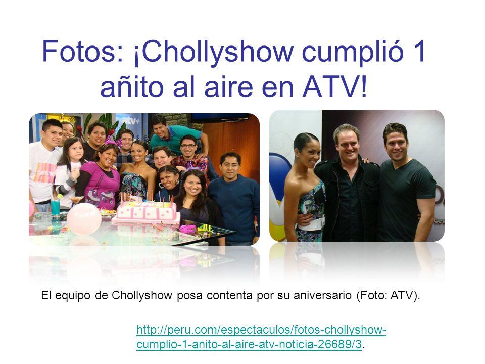 Fotos: ¡Chollyshow cumplió 1 añito al aire en ATV!