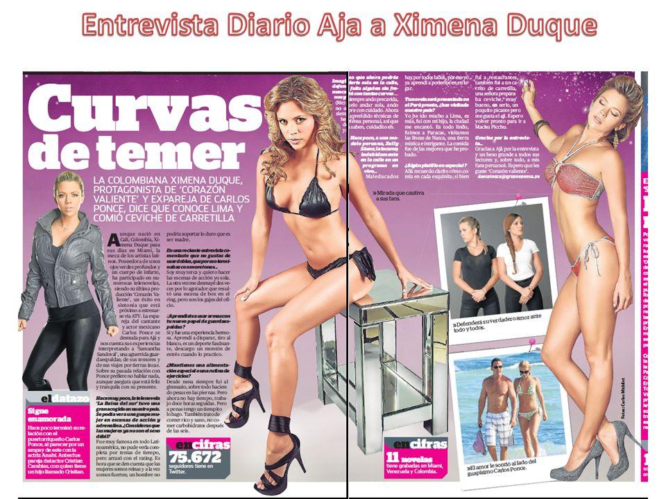 Entrevista Diario Aja a Ximena Duque