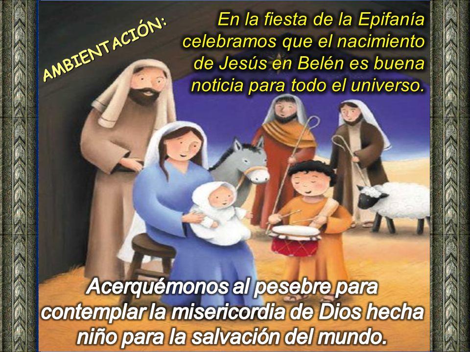 En la fiesta de la Epifanía celebramos que el nacimiento de Jesús en Belén es buena noticia para todo el universo.