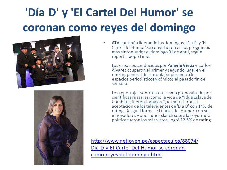 Día D y El Cartel Del Humor se coronan como reyes del domingo