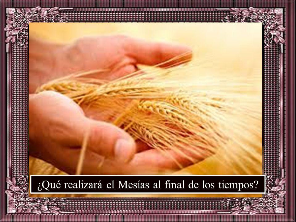 ¿Qué realizará el Mesías al final de los tiempos
