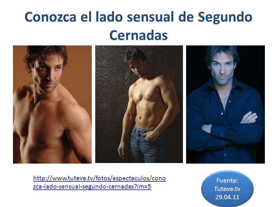 Conozca el lado sensual de Segundo Cernadas