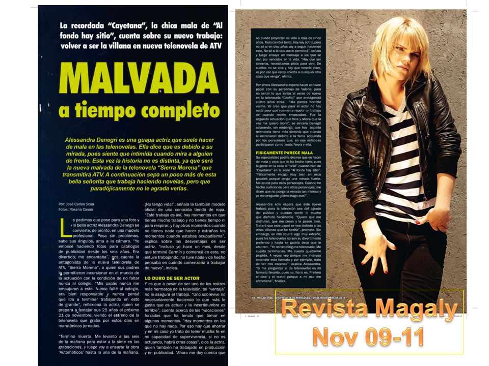 Revista Magaly Nov 09-11