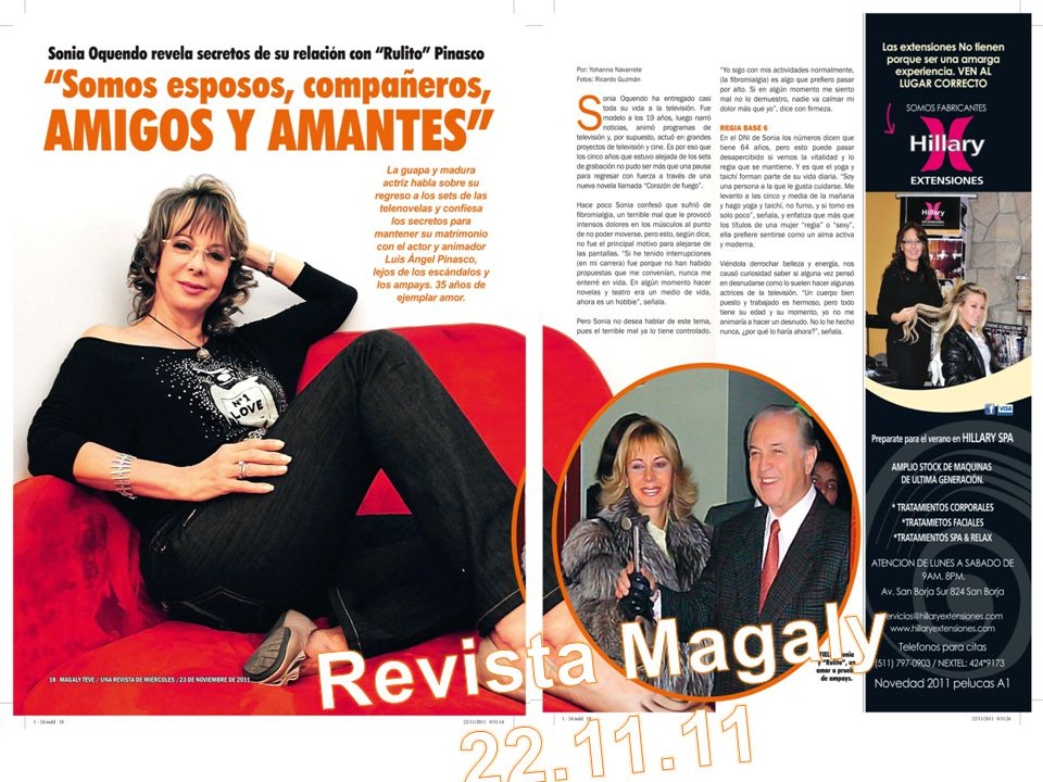 Revista Magaly 22.11.11