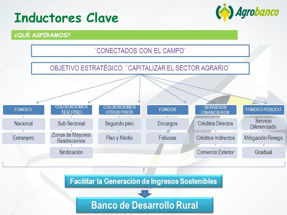 Inductores Clave Banco de Desarrollo Rural