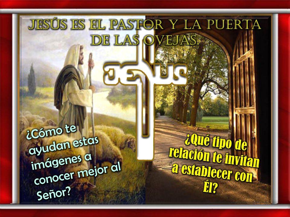 Jesús es el pastor y la puerta de las ovejas.