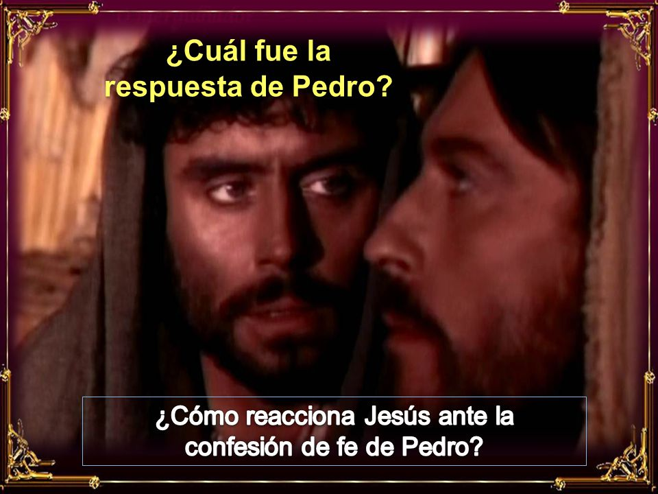 ¿Cuál fue la respuesta de Pedro