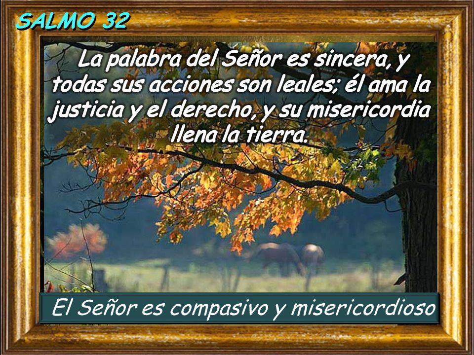 El Señor es compasivo y misericordioso