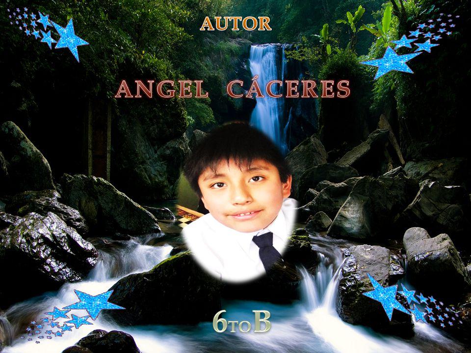 AUTOR ANGEL CÁCERES 6TOB