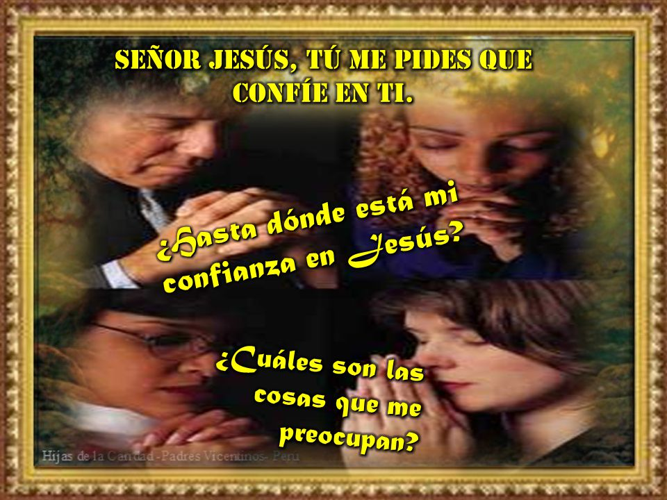 ¿Hasta dónde está mi confianza en Jesús